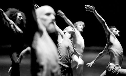 Dancing with the damned: Emio Greco/PC's Hell. Photo Laurent Ziegler