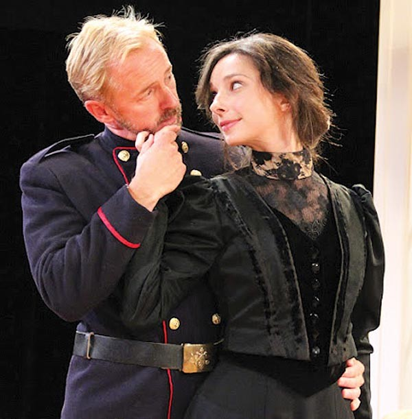 David Whalen and Allison McLemore in Three Sisters, at PICT