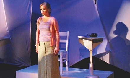 "Dazzling: Erica Olden in Microscopic Opera's ""To Hell and Back"""
