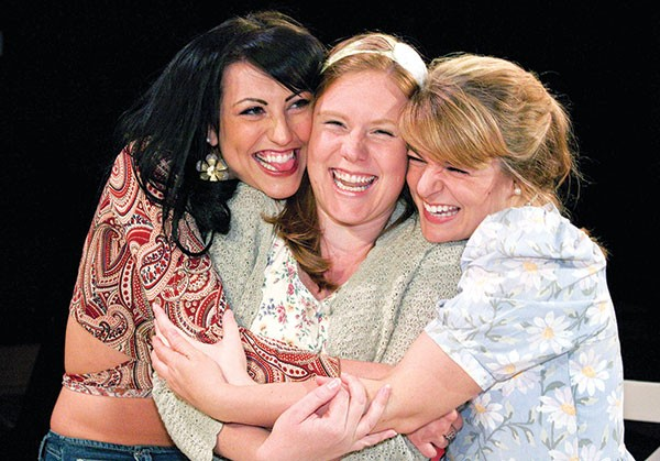 Deborah Bender, Jena Oberg and Lily Junker in Little Lake's Crimes of the Heart