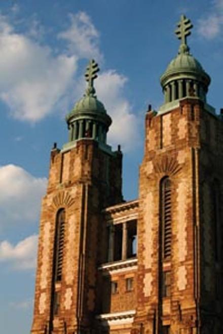 Delicate and detailed: de Bobula's St. John's Byzantine Catholic Church, in Munhall. - HEATHER MULL