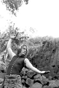 Demonstrating how big Bat out of Hell sounds: Todd Rundgren
