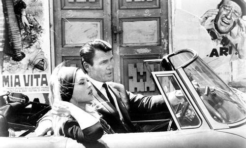 Destination arthouse: Brigitte Bardot and Jack Palance
