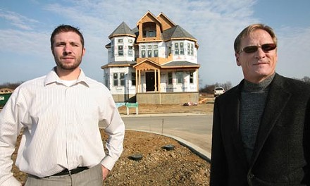 Developers Don Rodgers Sr. and Don Rodgers Jr. are taking a new approach to the landscape with Park Place. - HEATHER MULL