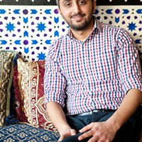 Dijlah Dijlah Restaurant owner Bashar Shandel Photo by Heather Mull