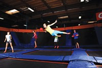 Dodgeball at SkyZone