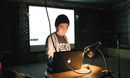 """Dorkbot"" presenter Kazuhiro Jo"