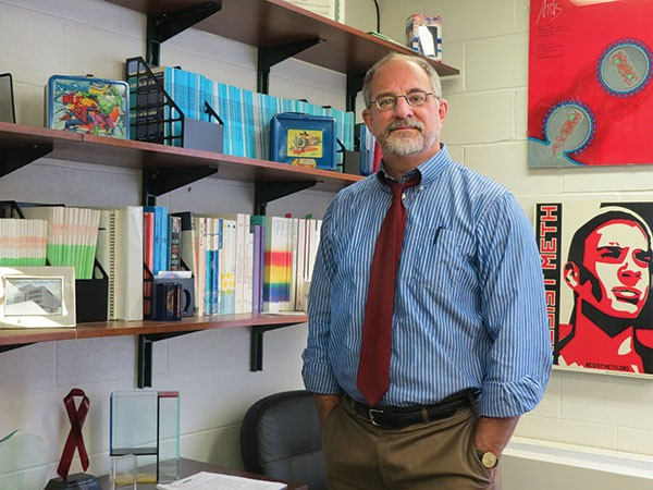 Dr. Ron Stall of Pitt's Center for LGBT Health Research