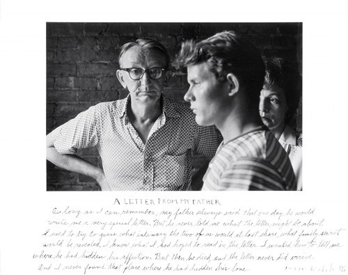 Duane Michals A Letter from My Father