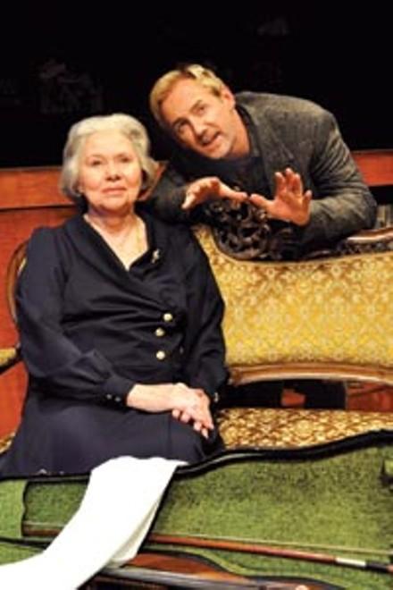 Duet: Carla Belver and David Whalen in City Theatre's The Morini Strad - PHOTOS COURTESY OF SUELLEN FITZSIMMONS