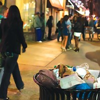 East Carson Street's nightlife and its byproduct