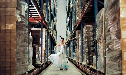 """Eastern promises: Cao Fei's """"My Future is Not a Dream,"""" a production still from her video """"Whose Utopia."""" - PHOTO COURTESY OF THE ARTIST AND LOMBARD-FREID PROJECTS, NEW YORK."""