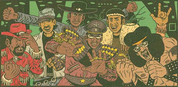 Ed Piskor in Hip Hop Family Tree Vol. 2