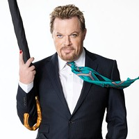 Eddie Izzard is back, with more history behind him than ever
