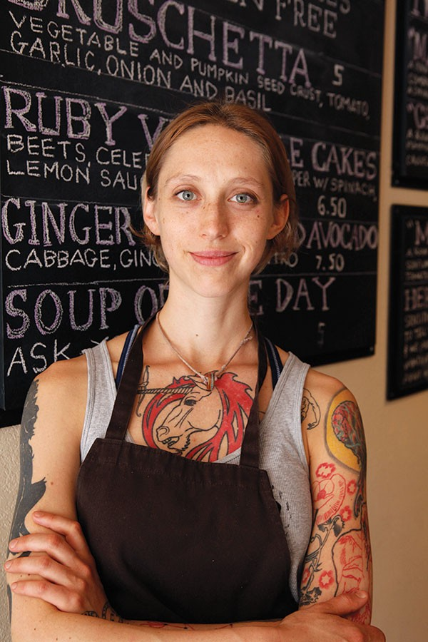 Eden chef/co-owner Hilary Zozula