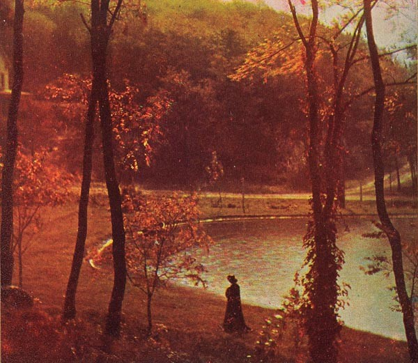 """Edward J. Steichen's """"Experiment in Three-Color Photography"""" (1906) - IMAGE COURTESY OF THE CARNEGIE MUSEUM OF ART"""