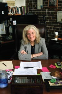 Elizabeth Pittinger, head of the Citizens Police Review Board