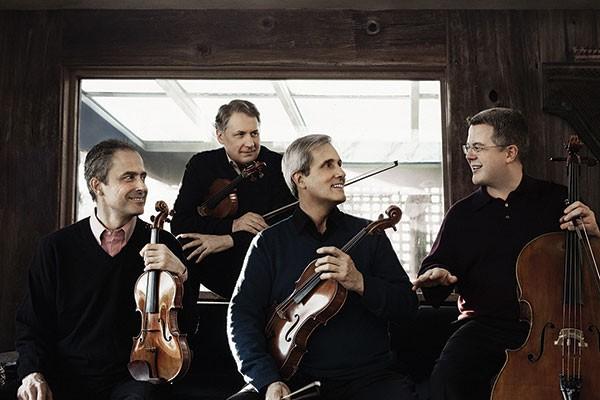 Emerson String Quartet play carnegie music hall