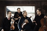 Emerson String Quartet play carnegie music hall