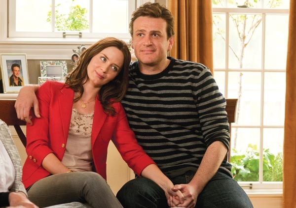 Emily Blunt and Jason Segel, on their very long road to the altar