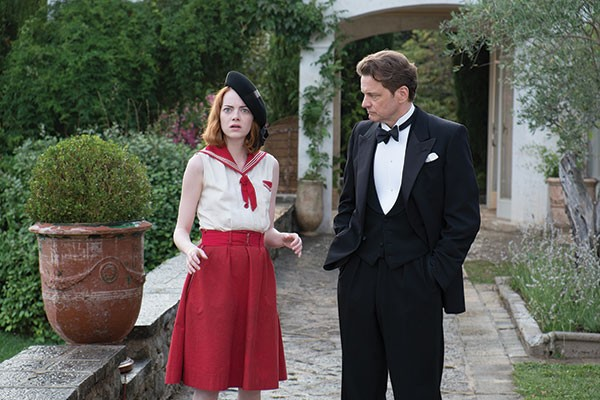 Emma Stone and Colin Firth, Magic in the Moonlight