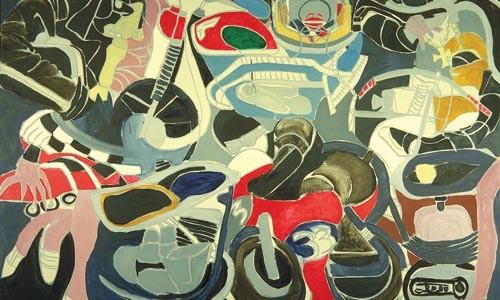 "Epic: Grace Hartigan's ""Modern Cycle"" (1967)."
