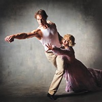 Eva Trapp and Robert Moore in Pittsburgh Ballet's <i>A Streetcar Named Desire</i>