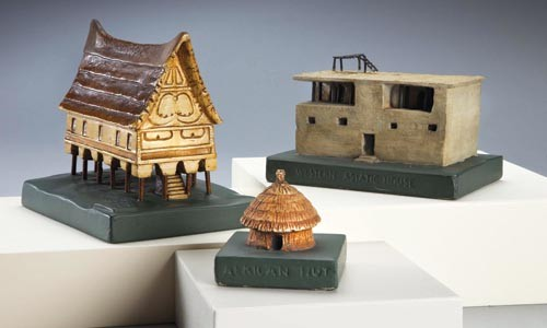 Ever so humble: Small-scale ceramic model homes made by the Pennsylvania Museum Extension Project