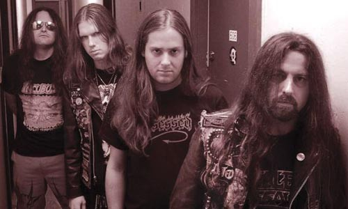 """Everything about it is black"": NunSlaughter (Don of the Dead, far left)"
