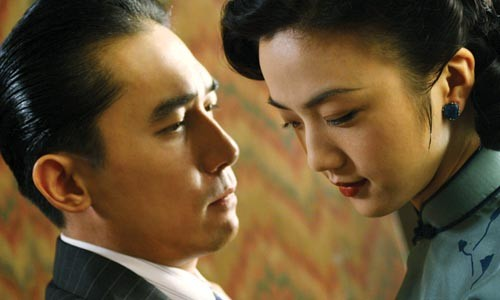 Face to face: Tony Leung Chiu Wai and Wei Tang