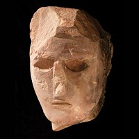Facing the past: Head of a statue, a sandstone sculpture from Al-Ula, 4<sup>th</sup>-3<sup>rd</sup> century BCE