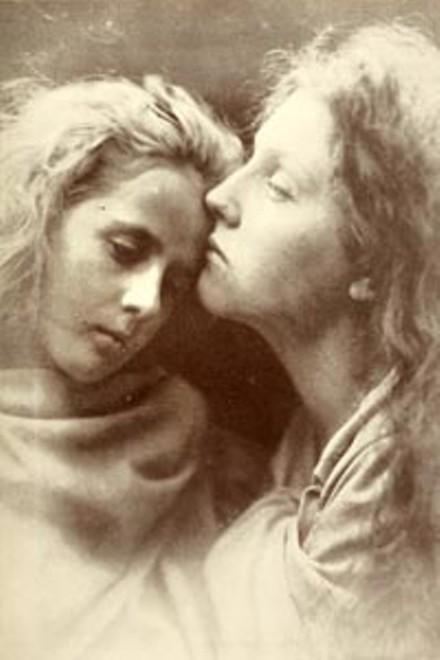 "Family album: Julia Margaret Cameron's ""The Kiss of Peace"" (1869)"