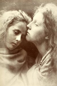 "Family album: Julia Margaret Cameron's ""The Kiss of Peace"" (1869)"