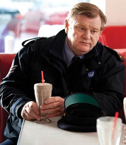 Fat old fart: Brendan Gleeson