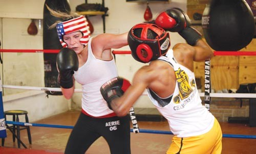 Fisher takes on Susan Ciccone. - HEATHER MULL
