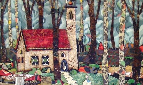 "Floor it: Bill Miller's ""New England Churchyard"""