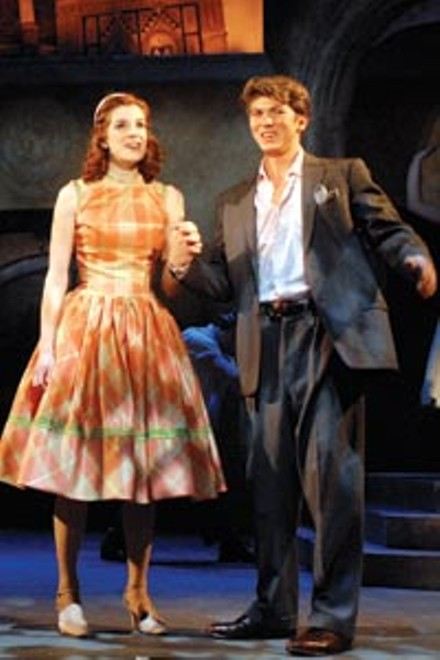 Florentine holiday: Courtney Bassett and Jaron Frand in Point Park Conservatory Theatre's The Light in the Piazza - COURTESY OF DREW YENCHAK