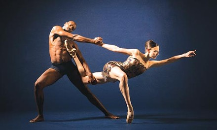 Fluidity, line, elegance: LINES Ballet dancers Meredith Webster and Keelan Whitmore. - COURTESY OF MARTY SOHL