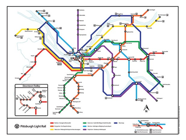 Former grad student's proposed transit map goes viral | News