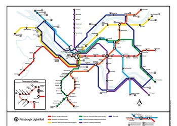Former grad student's proposed transit map goes viral