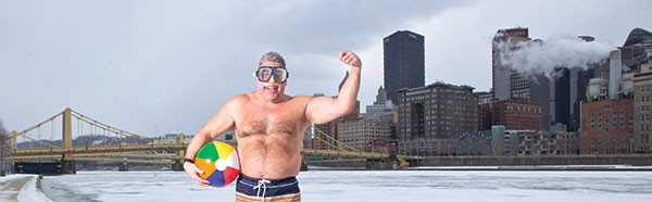 Frank Nelson of the Polar Bear Club