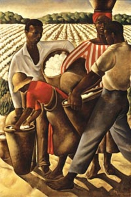 "FRICK ART & HISTORICAL CENTER >> Earle Richardson, ""Employment of Negroes in Agriculture,"" 1934"