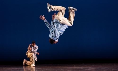 From street to stage: Rennie Harris Puremovement dancers.