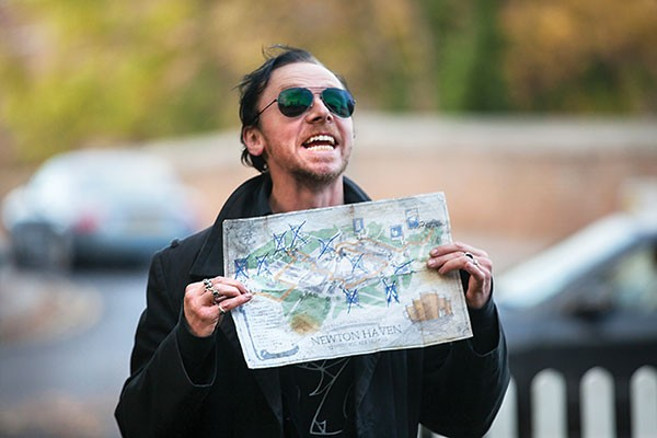 Gary (Simon Pegg) has the evening mapped out.