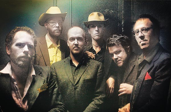 Getting religion: Slim Cessna's Auto Club (Slim Cessna, second from left)