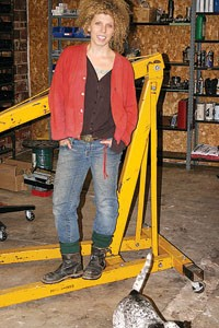 Gina Favano will be offering workshops to teach women how to convert their vehicles to run on biofuels -- vegetable oil.