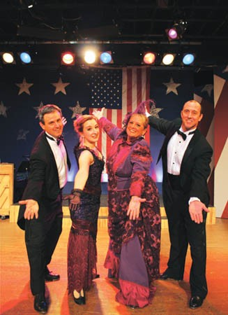Give their regards to Broadway: George M!, at The Theatre Factory.