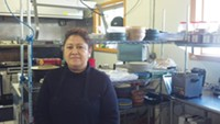 Gladys Sanchez is running the new restaurant on Route 51, Edgar's Authentic Mexican Cuisine. - PHOTO BY AMYJO BROWN