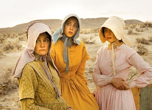Go west, young women: Shirley Henderson, Zoe Kazan and Michelle Williams