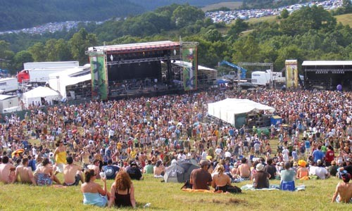 Going to be epic: the scene at last summer's All Good
